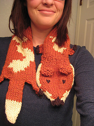 Ravelry Fauxthropologie Fox Stole Pattern By Katie Cunningham