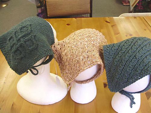 Ravelry Head Kerchiefs 3 Pattern By Katie Chameleon