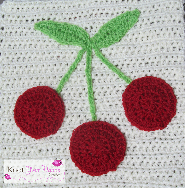Ravelry Bunch Of Cherries Applique Pattern By Teri Heathcote