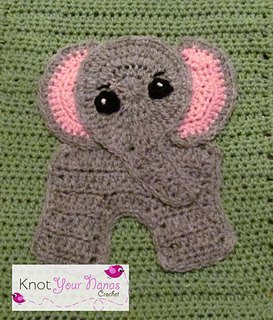 Ravelry Elephant Applique Pattern By Teri Heathcote