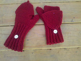 Free Crochet Pattern For Flip Top Mittens : Ravelry: Crochet Flip-Top Mittens pattern by Kylie Marie Brown