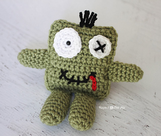 Crochet Zombie Patterns : Ravelry: Friendly Crochet Zombie Doll pattern by Sarah ...