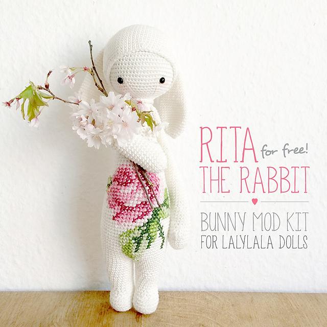 Ravelry: RITA the rabbit - bunny mod kit for lalylala dolls pattern ...