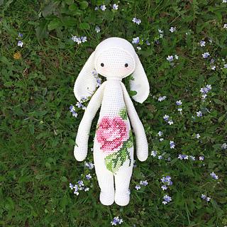 Ravelry Rita The Rabbit Bunny Mod Kit For Lalylala Dolls Pattern