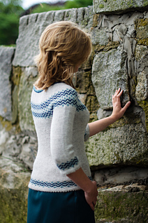 Essex pullover pattern by Alison Green