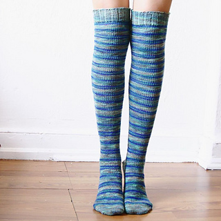 a2756294fc7 Ravelry  Philly Knee High Socks pattern by Lavanya Patricella
