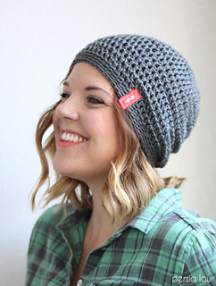 4e20504fcbd Ravelry  Simple Slouch Hat pattern by Alexis Middleton