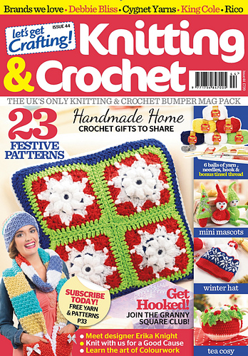 Ravelry Lets Get Crafting Knitting Crochet 44 Patterns