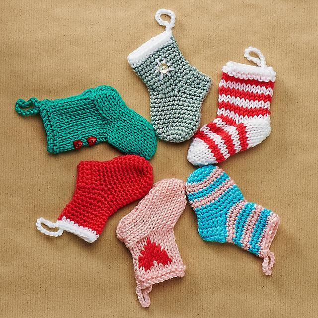 Ravelry Mini Stockings Pattern By Emma Varnam