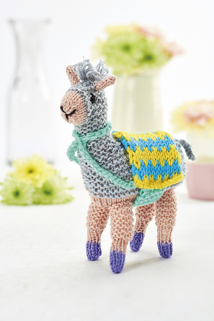 Ravelry Fizz The Llama Pattern By Fiona Goble
