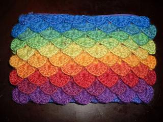 Ravelry  Crocodile Stitch Bag pattern by Tejiendo Historias   Shanti ... 80a59adfc0f01