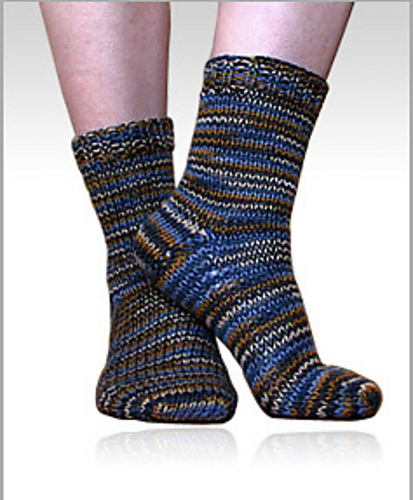 Ravelry Beginner Toe Up Worsted Weight Socks Pattern By Liat Gat