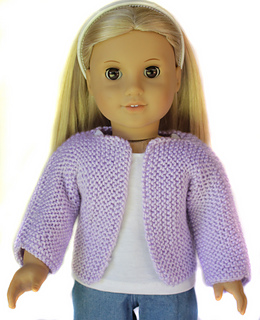 Ravelry Beginner Knit Sweater 18 Dolls Pattern By Liese Brouwer