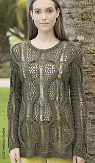 # 22 Pulli in Oliv pattern by OZ Verlag Design Team