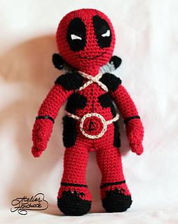 Crochet Wedding Dress Pattern Doll : Ravelry: DeadPool toy pattern by Atelier Handmade