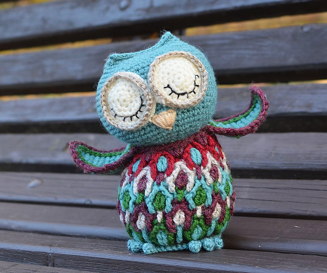 Indie Design Gift Along 2018 Toys Crochet owl
