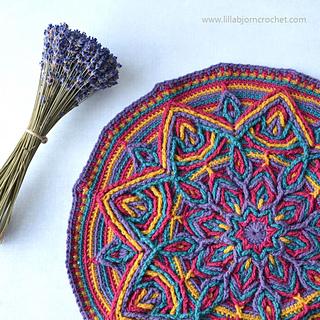 Ravelry Illusion Mandala Overlay Crochet Pattern By Tatsiana