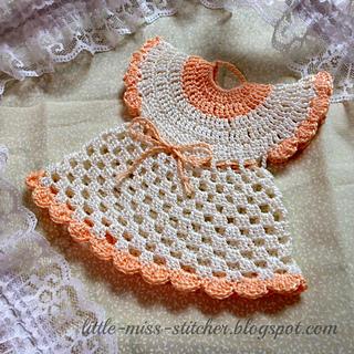 Ravelry Vintage Crochet Dress Potholder Pattern By Little Miss Stitcher