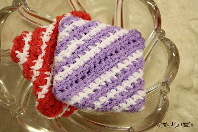 Ravelry Little Crochet Square Scrubbie Pattern By Little Miss Stitcher