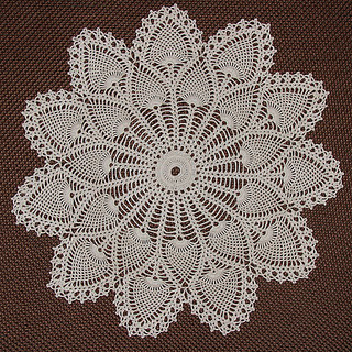 Ravelry Royal Pineapple Doily 7275 Pattern By The Spool Cotton Company