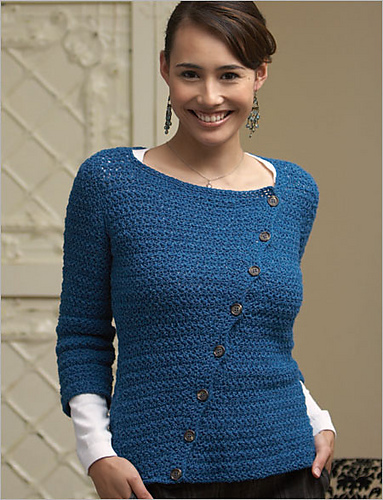 Ravelry Customize A Crochet Tunic Blouse And Pullover 4 Free