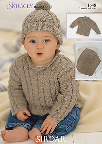 Ravelry Sirdar 1648 Snuggly Double Knitting Patterns