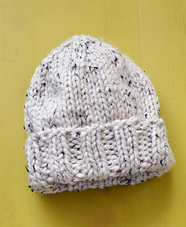 Ravelry  Salt and Pepper Hat pattern by Lion Brand Yarn 95b517e4bbd