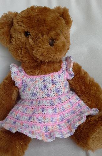 Ravelry Teddy Dresses Pattern By Linda Mary