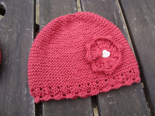 71f706afd Ravelry  Bonnet and Booties  Bonnet pattern by Erika Knight