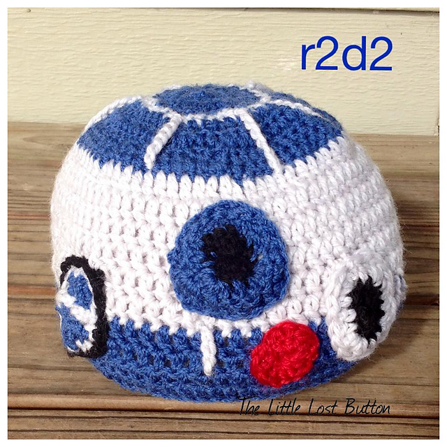 Ravelry Littlelostbuttons Star Wars R2d2 And Princess Leia