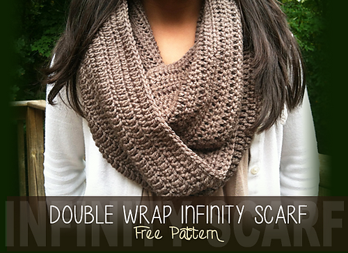 Ravelry Double Wrap Infinity Scarf Pattern By Rebecca Langford