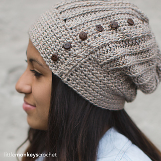 99b9af6eb6b Ravelry  Maribel Slouch Hat pattern by Rebecca Langford