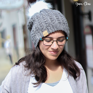 Ravelry  Malia Slouch Hat pattern by Rebecca Langford 49be4b3a61d