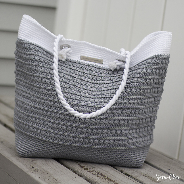 Ravelry Malia Shoulder Bag Pattern By Rebecca Langford