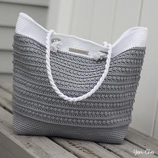 Ravelry Malia Shoulder Bag Pattern By Rebecca Langford