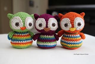 Amigurumi Pattern Free Owl : Ravelry baby owl pattern by little muggles