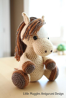 Amigurumi Horse Lucky Pattern By Little Muggles Ravelry