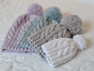Ravelry  Oscar Bobble Hat pattern by Linda Whaley c6b11890282