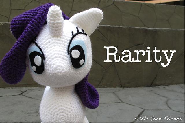 Ravelry My Little Pony Rarity Pattern By Rachel Hoe