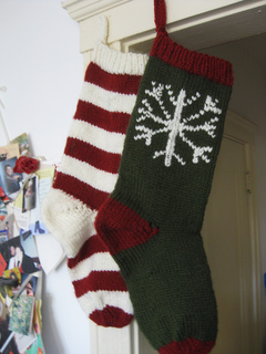 Ravelry Striped Christmas Stocking Pattern By Sarah E White