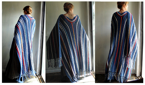 Ravelry Simply Ruana Shawl Poncho Pattern By Elizabeth Gormley