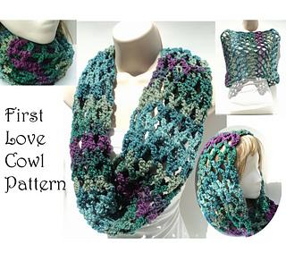 Ravelry First Love Cowl Pattern By Elizabeth Gormley