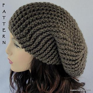 c46ecb63504 Ravelry  Providence Slouchy Hat pattern by Martha McKeon