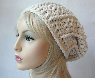 4252134a383 Ravelry  First Avenue Slouch Hat pattern by Martha McKeon