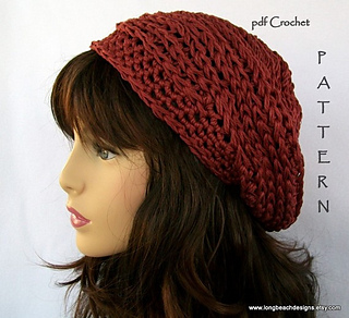 be1aafd0672 Ravelry  Brick House Slouch Hat pattern by Martha McKeon