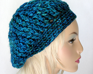 8e4f1d5ffd2 Ravelry  Fourth Avenue Slouch Hat pattern by Martha McKeon