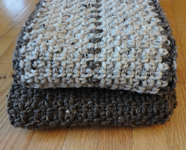 Ravelry: Men\'s Scarf pattern by Suzanne Resaul