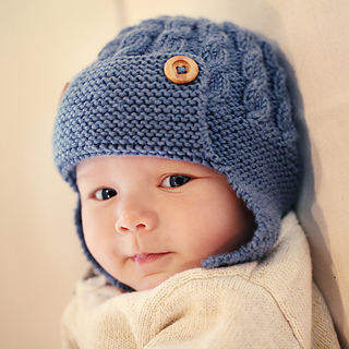 Ravelry  Dayton - Cabled Baby Aviator Hat pattern by Julie Taylor 3672fbc2deb