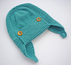 Ravelry  Wright-Flyer Baby Aviator Hat pattern by Julie Taylor 585d34a585f