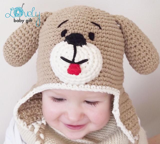 Ravelry: Puppy Dog Hat Crochet Pattern pattern by Viktorija Dineikiene